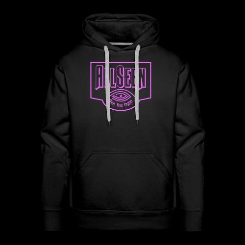 Pink AllSeen Logo - Men's Premium Hoodie