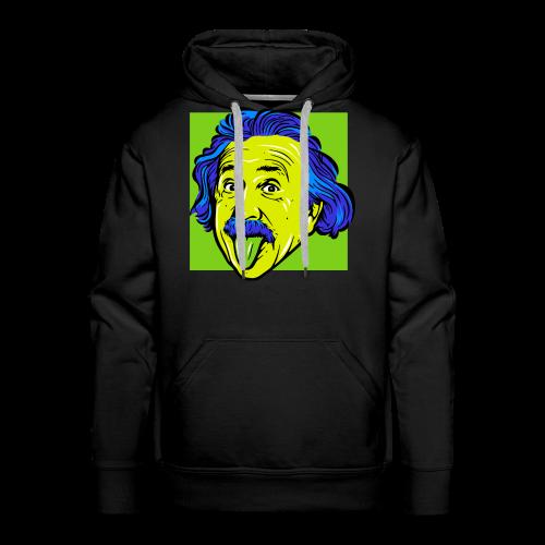 Crazy Einstein - Men's Premium Hoodie