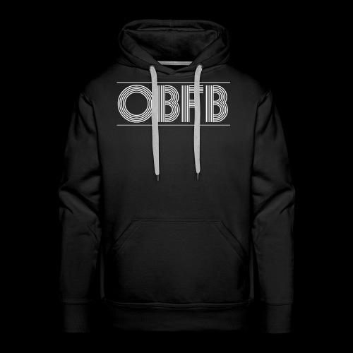 OBFB Bold 'n' Black - Men's Premium Hoodie