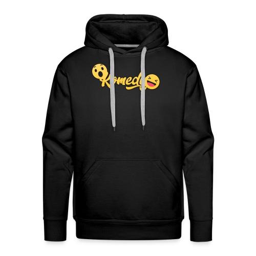 Komedy Basic Logo - Men's Premium Hoodie