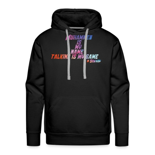 Muhammed is my Name Merch - Men's Premium Hoodie