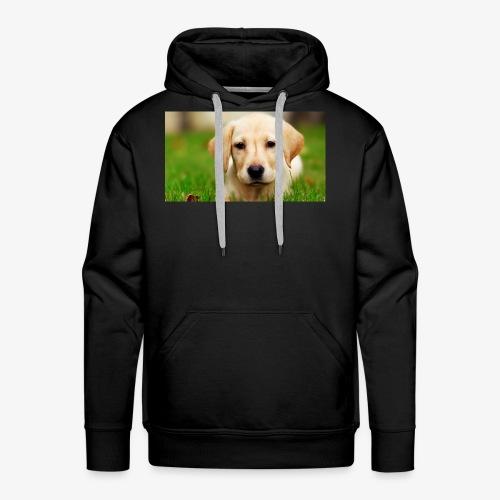 cute puppy - Men's Premium Hoodie