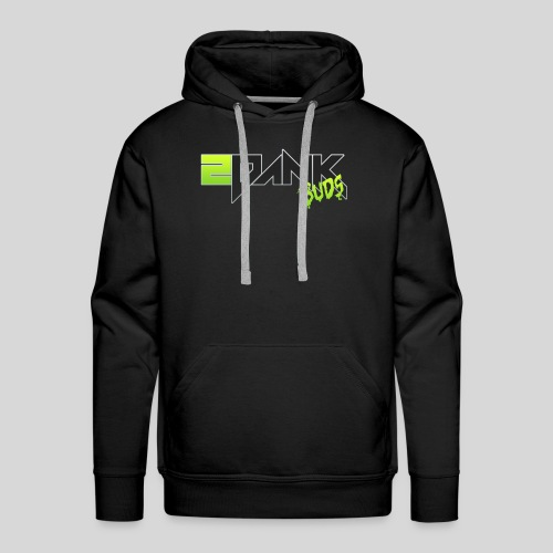 2 Dank Buds Logo - Men's Premium Hoodie