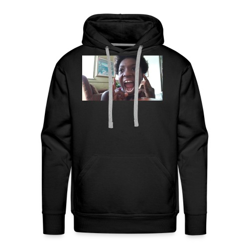 Screaming Face - Men's Premium Hoodie