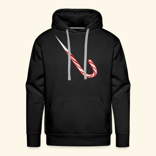 Candy Cane Shiv - Men's Premium Hoodie