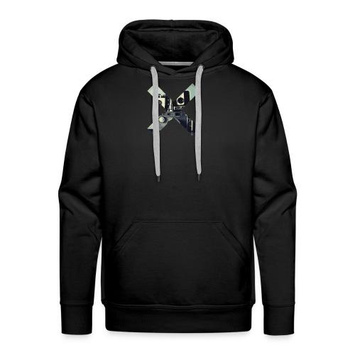X CAMERA HUMOUR LOGO - Men's Premium Hoodie
