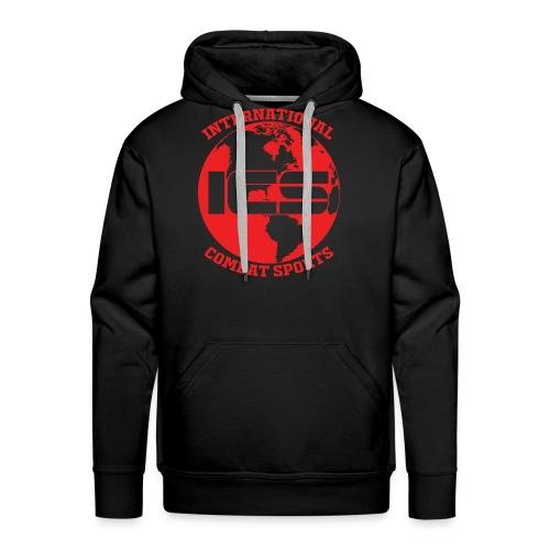 Red ICS Logo - Men's Premium Hoodie