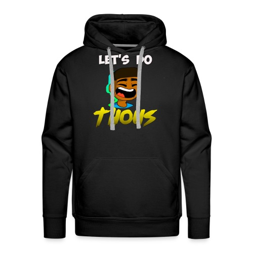 Let's Do Thous by SpartanHunter-720 - Men's Premium Hoodie