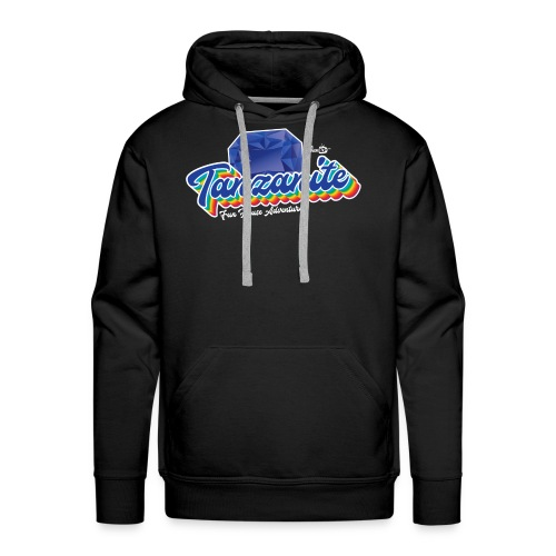 Tanzanite Birthstone Gem - Men's Premium Hoodie