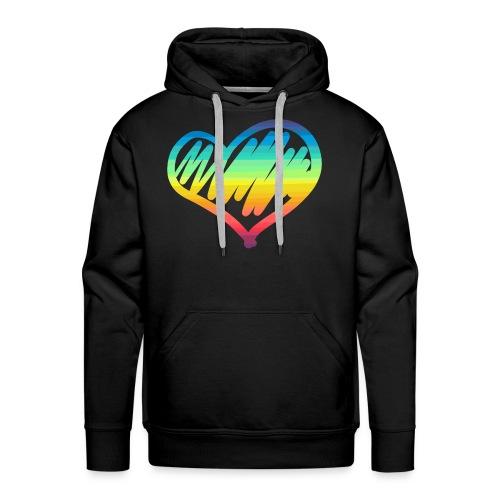 Pride Heart - Men's Premium Hoodie