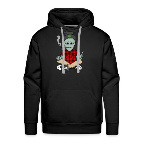 NUGZ THE ALIEN Mascot 4 TOO HIGH CLUB CLOTHING Co. - Men's Premium Hoodie