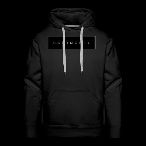 Ca$hMoney box logo v2 - Men's Premium Hoodie
