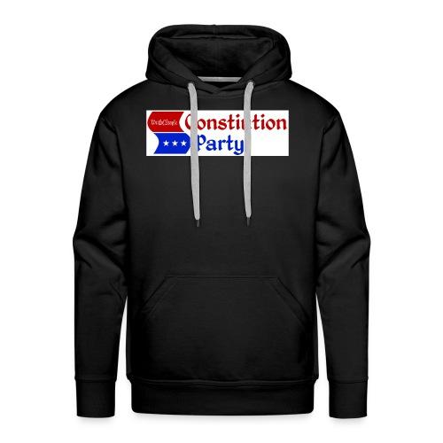 Constitution party logo - Men's Premium Hoodie