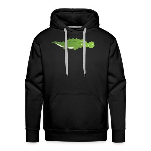 cute baby crocodile - Men's Premium Hoodie