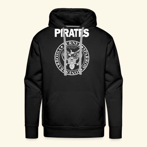 Punk Rock Pirates [heroes] - Men's Premium Hoodie