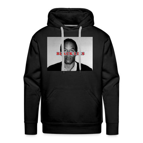 BLACK LIES - Men's Premium Hoodie