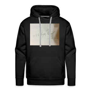 This is important for my fans in musically - Men's Premium Hoodie