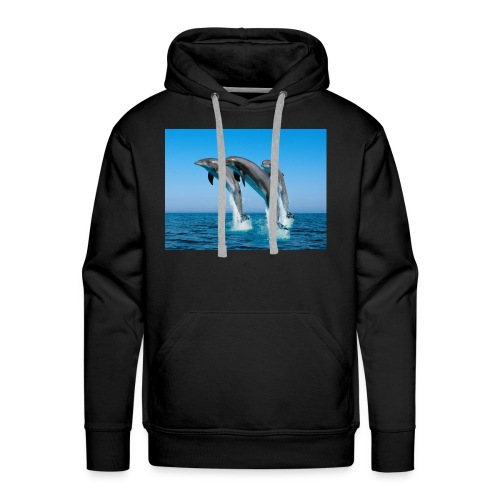 Dolphins For LIFE - Men's Premium Hoodie