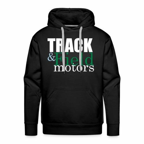 Track and Field Logo - Men's Premium Hoodie
