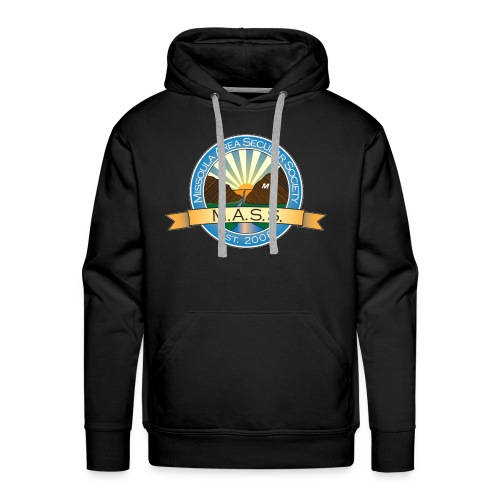 Missoula Area Secular Society Logo - Men's Premium Hoodie