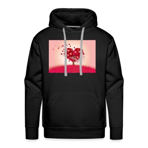 Heart Love Tree - Men's Premium Hoodie