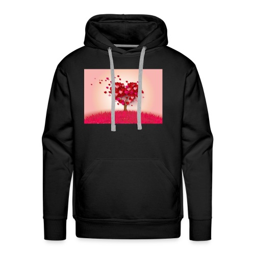 Heart Love Tree - Men's Premium Hoodie