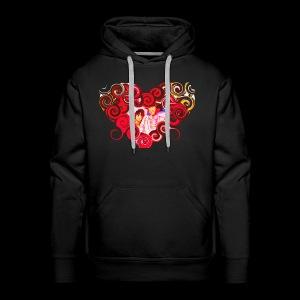 Custom heart design - Men's Premium Hoodie