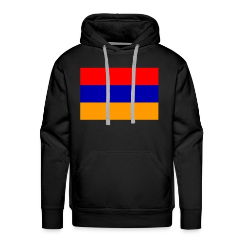 Armenian Flag - Republican of Armenia - Men's Premium Hoodie