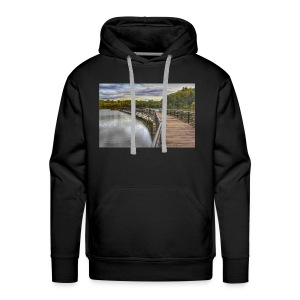 Rainy Day in Rochester - Men's Premium Hoodie