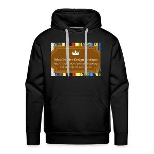 Debs Creative Design Boutique with site - Men's Premium Hoodie