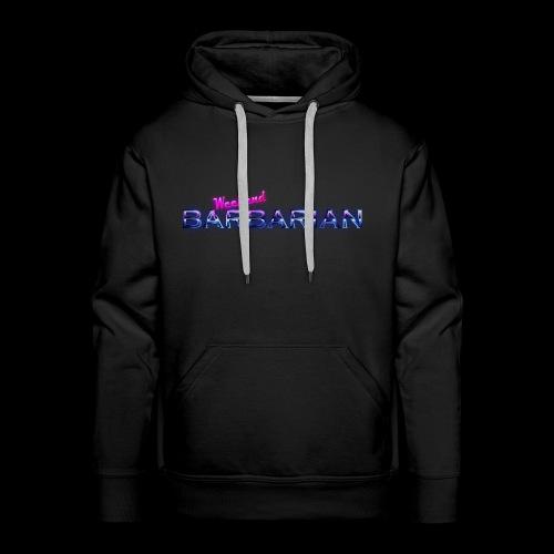 Weekend Barbarian - Men's Premium Hoodie