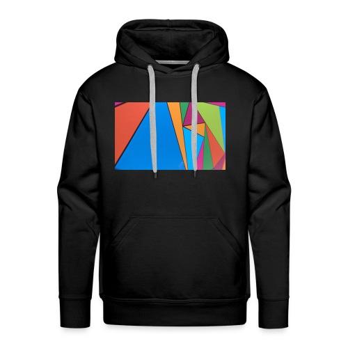 Colorful Geometry - Men's Premium Hoodie