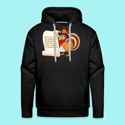 Thanksgiving Turkey - Men's Premium Hoodie