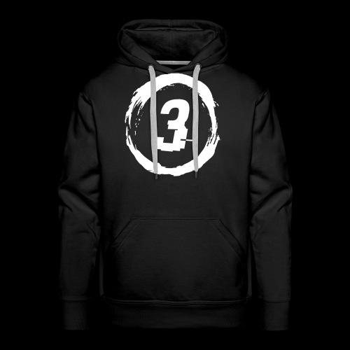 3 Circle Logo - Men's Premium Hoodie