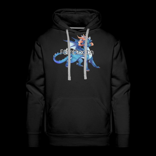 FaithDragon - Logo (Faith) - Men's Premium Hoodie