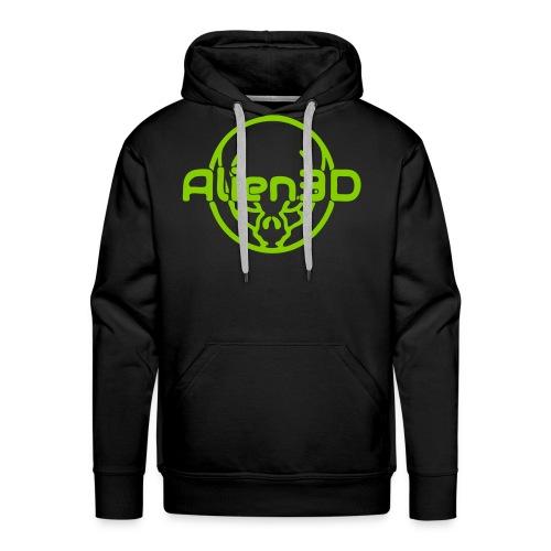 Alien3D Logo - Men's Premium Hoodie