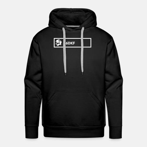 6DRAGONSKUNGFU.COM tag (horizontal) - Men's Premium Hoodie