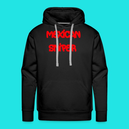 Mexican Sniper Graffiti - Men's Premium Hoodie