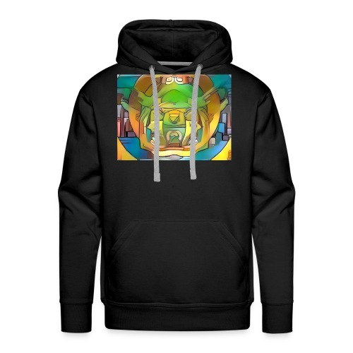 fractal art - Men's Premium Hoodie