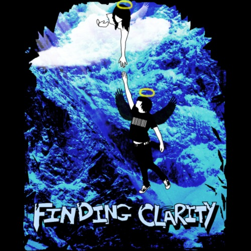 The Daily Declaration Logo and Text in White - Men's Premium Hoodie