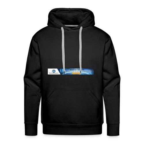 SpaceAgeBeats Banner logo - Men's Premium Hoodie
