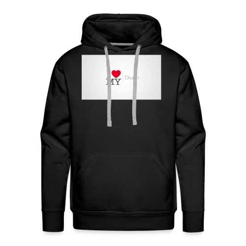 I love church - Men's Premium Hoodie