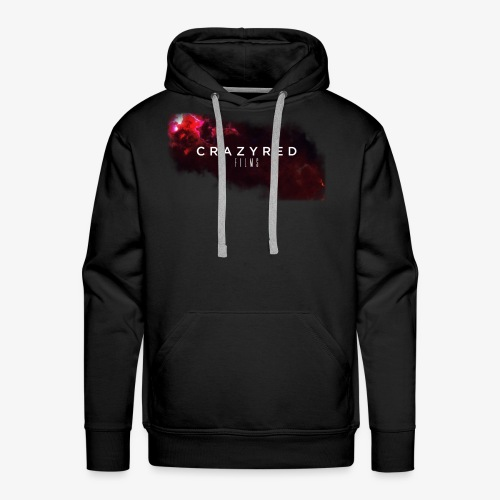 2018 Cinematic Galaxy Title Reveal On Black - Men's Premium Hoodie