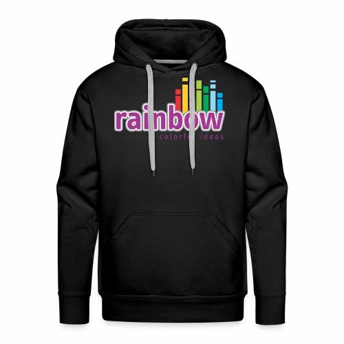 Rainbow Colorful Ideas - Men's Premium Hoodie