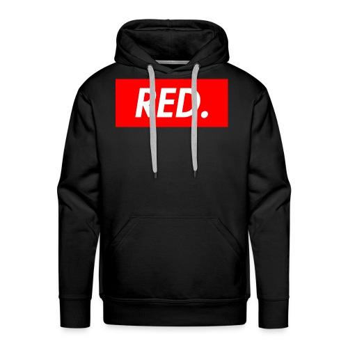 Red. - Men's Premium Hoodie