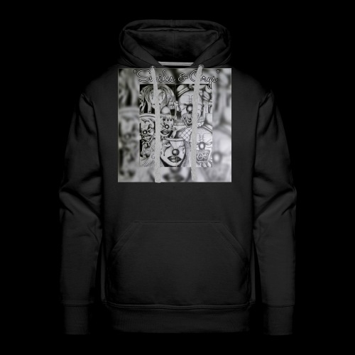 smiles and crys - Men's Premium Hoodie