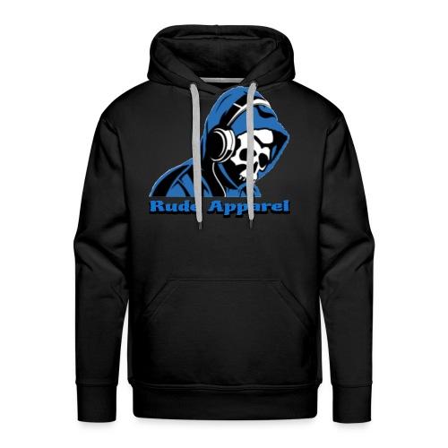 Rude Apparel Logo - Men's Premium Hoodie