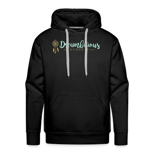 Dreambitious-Dynasty-Logo-MintGold_-1- - Men's Premium Hoodie