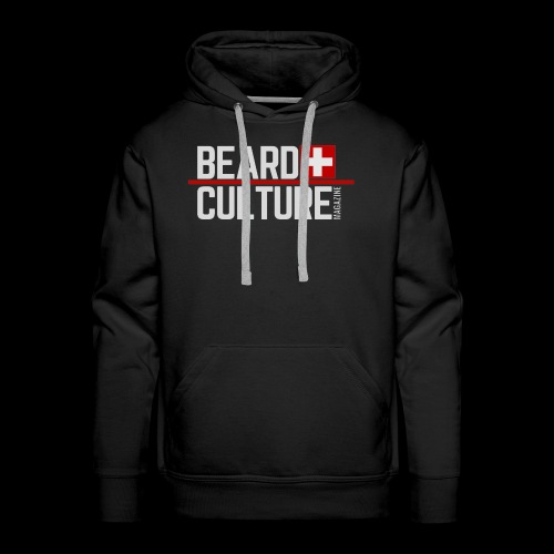 Beard Culture Magazine - Men's Premium Hoodie