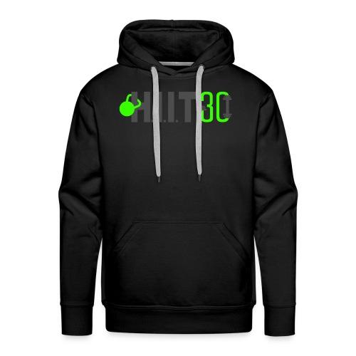 HIIT30_White - Men's Premium Hoodie